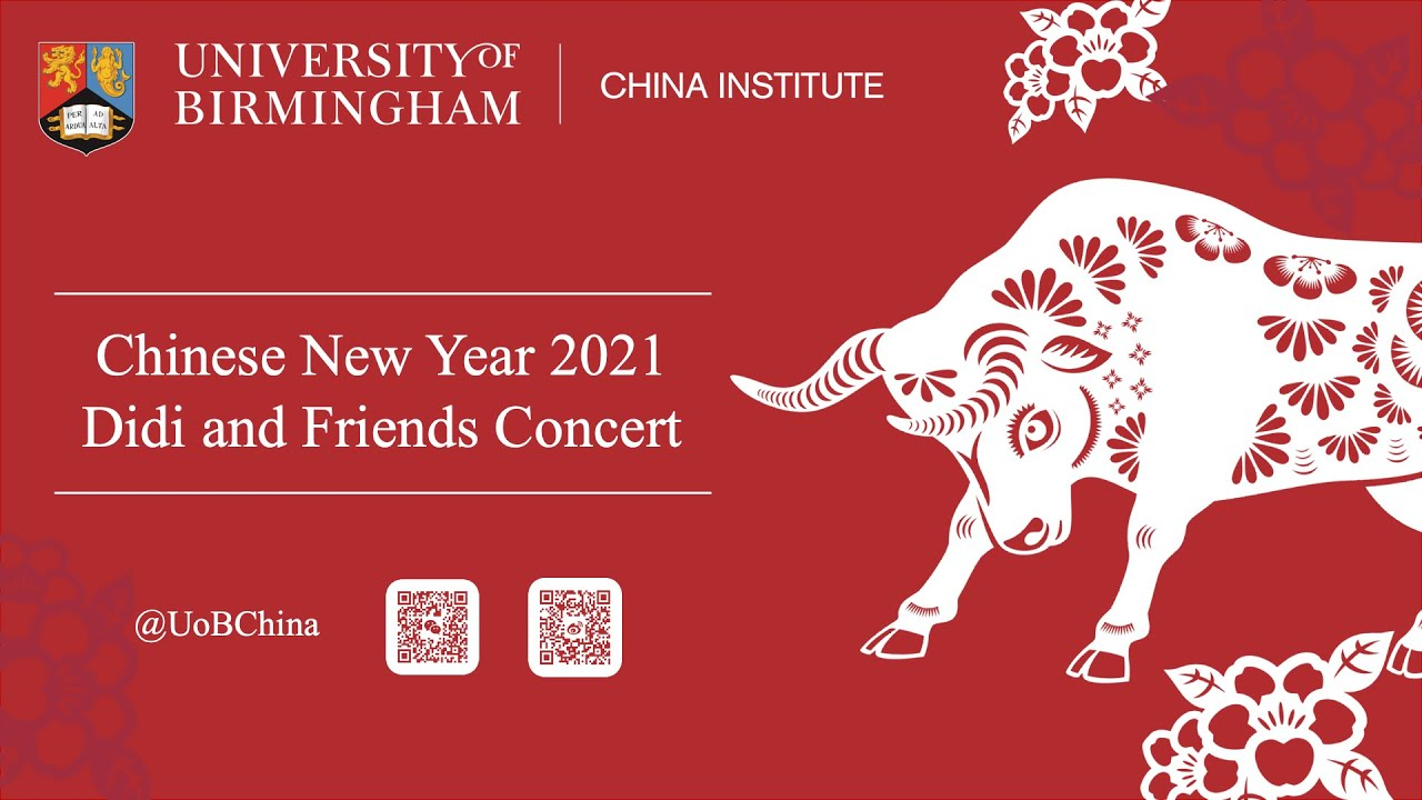 Happy Chinese New Year - concert from our China Institute