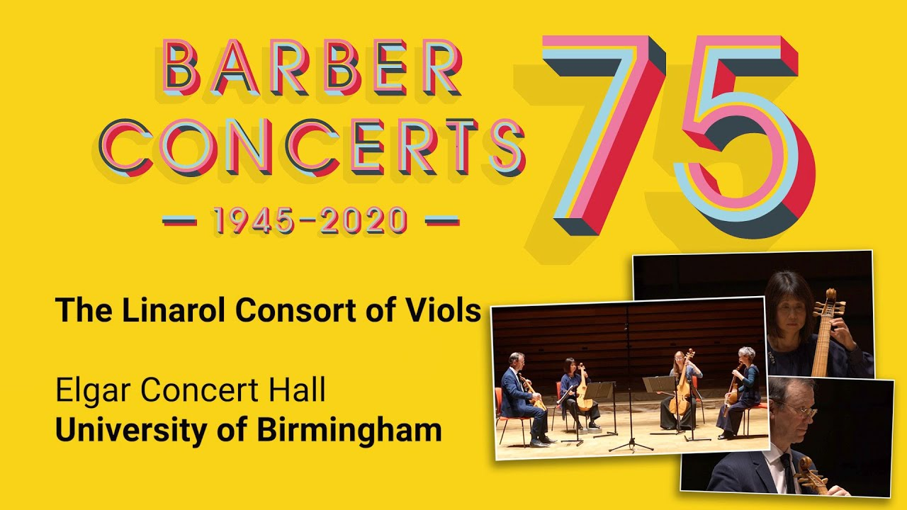 Virtual Barber Lunchtime Concerts Series with The Linarol Consort
