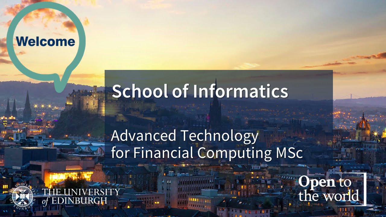 Introducing the Advanced Technology for Financial Computing MSc