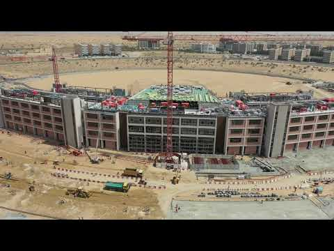 Dubai Phase Two Drone footage from 12th April 2021