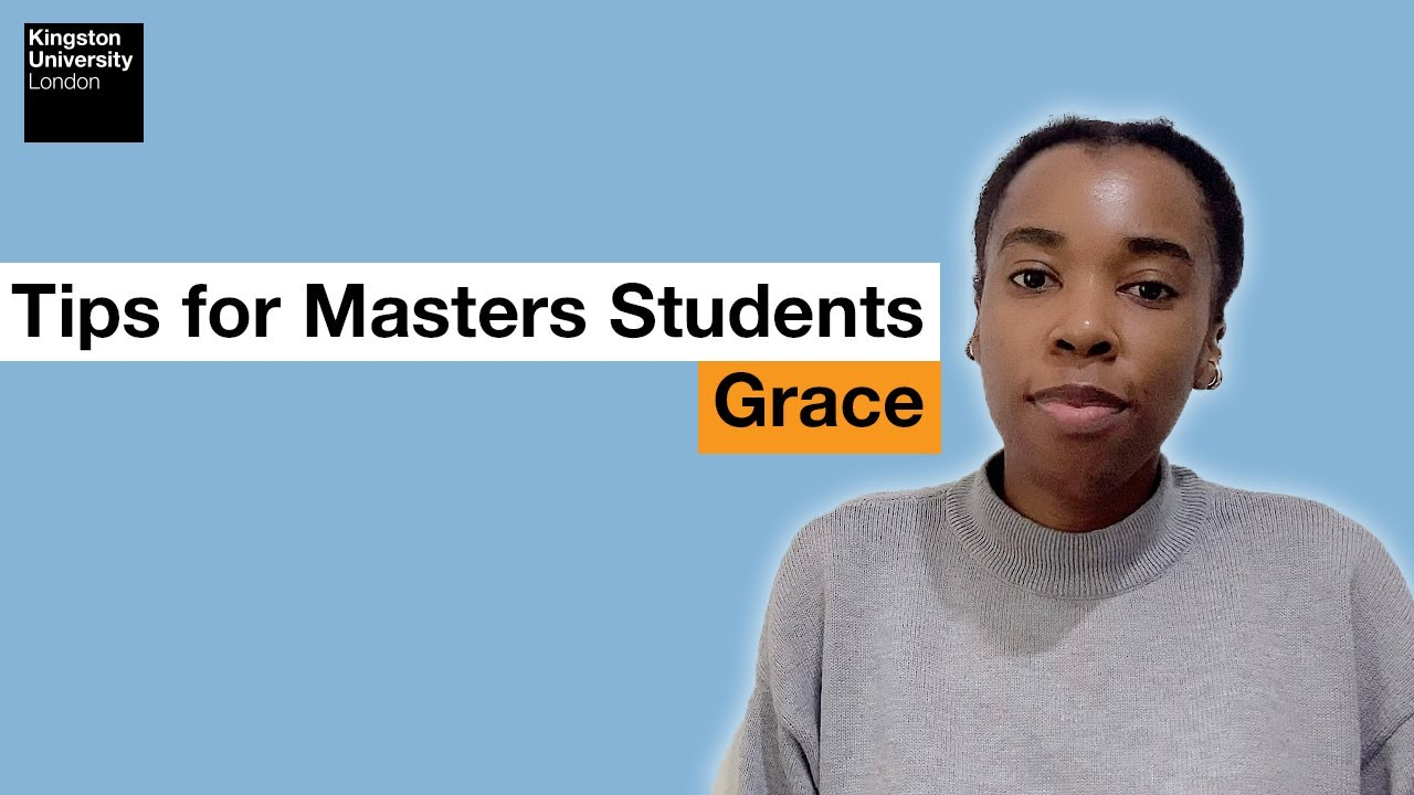 International Student Blogger: Tips for Masters Students