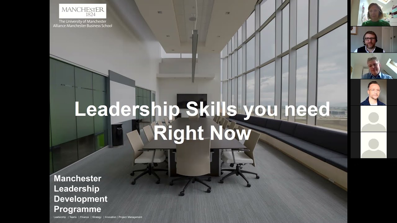 Leadership skills you need right now
