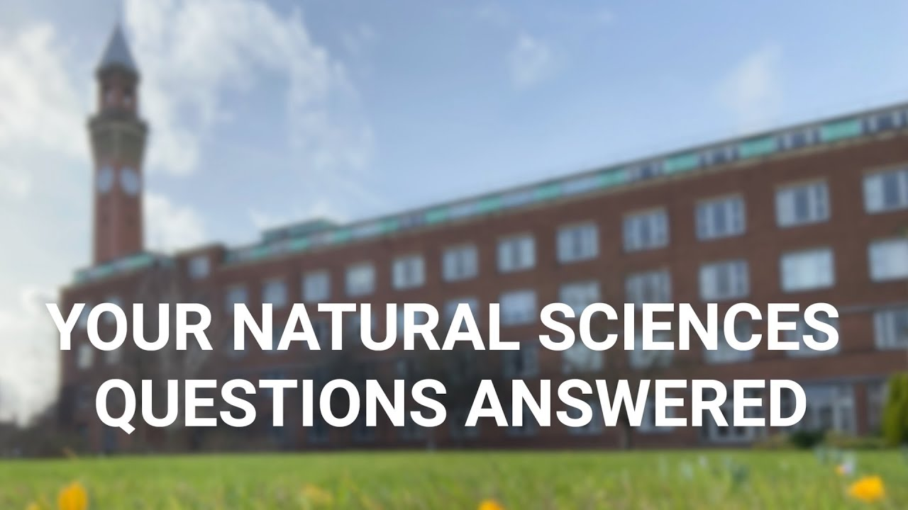Your Top 4 Natural Sciences Questions Answered