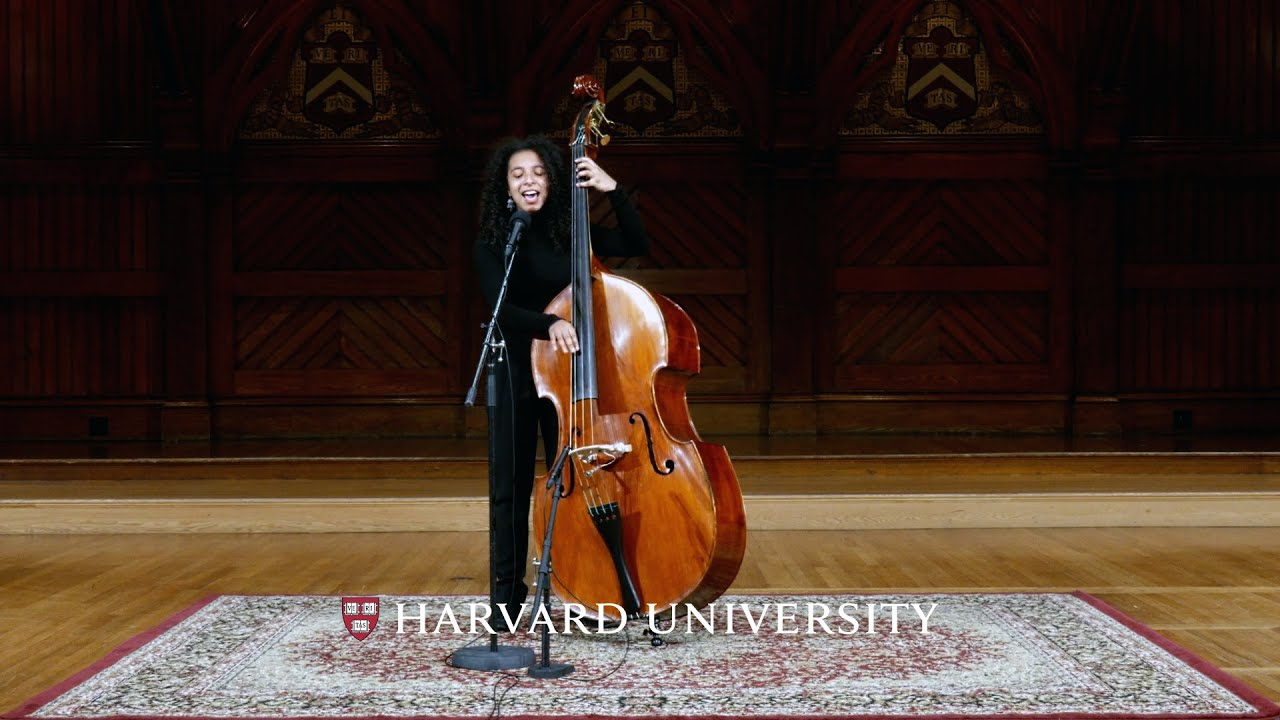 """""""Stand by me,"""" Devon Gates Musical Interlude   Honoring the Harvard Class of 2021"""