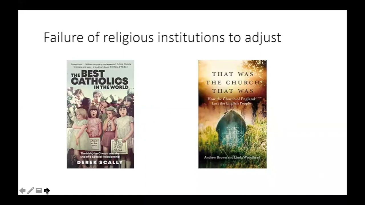 Edward Cadbury Lectures, Values are the New Religion: Culture Wars