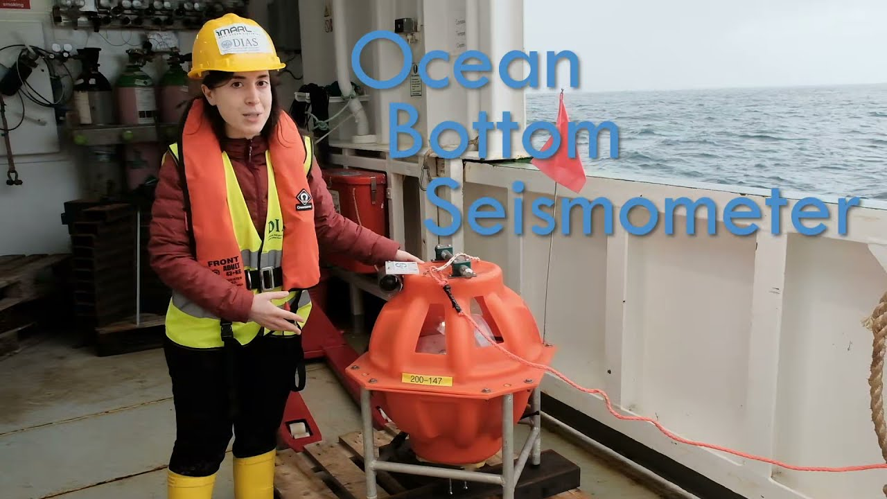 Expedition update - What is a Ocean Bottom Seismometer?