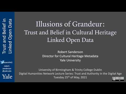 The Illusion of Grandeur: Trust and Belief in Cultural Heritage Linked Open Data