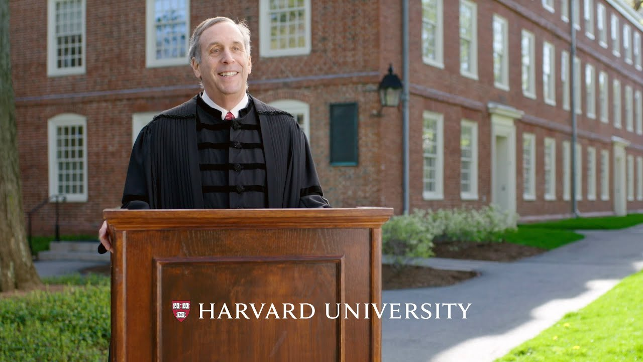 Address by Harvard President Larry Bacow | Honoring the Harvard Class of 2021