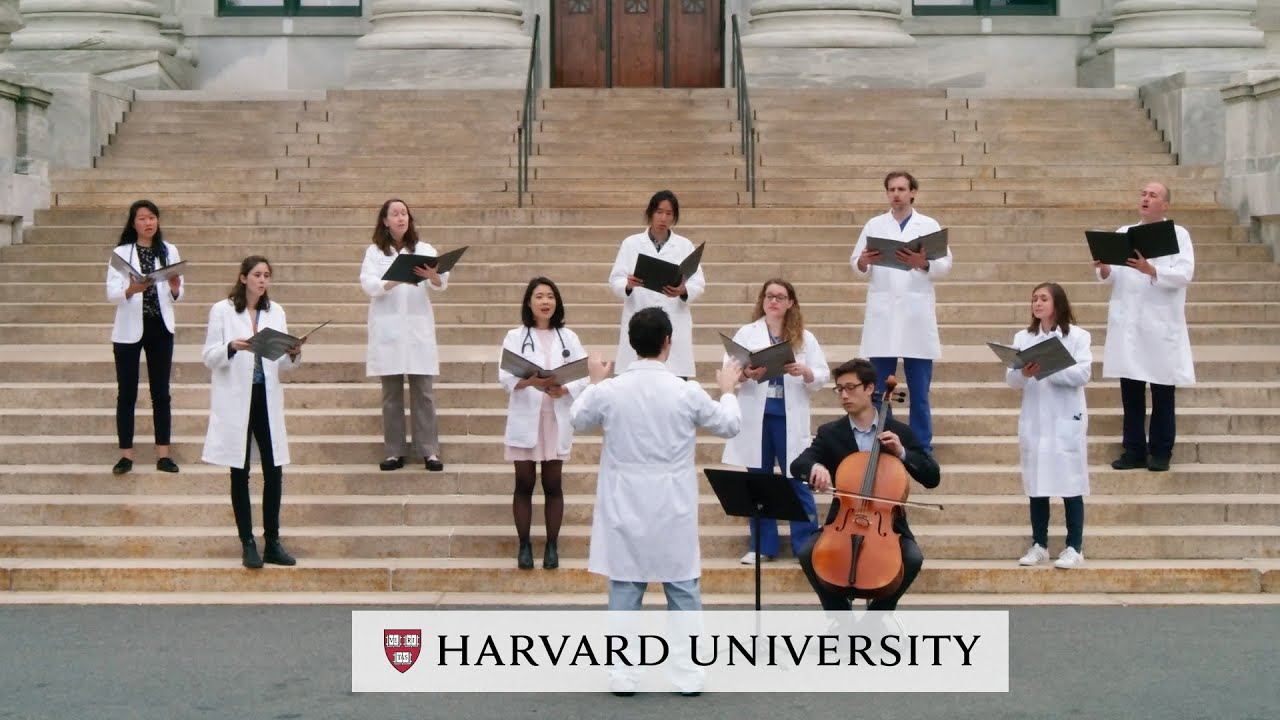 """""""The Winter is Past,"""" Harvard Medical Musical Interlude   Honoring the Harvard Class of 2021"""
