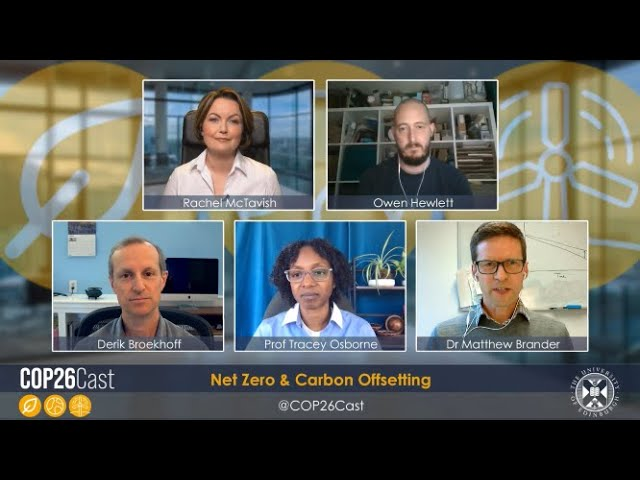COP26Cast: Net Zero and Carbon Offsetting