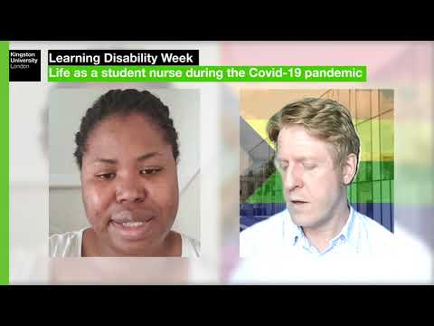 Learning Disability Week: Life as a student nurse during the Covid-19 pandemic