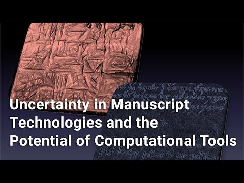 Uncertainty in Manuscript Technologies and the Potential of Computational Tools