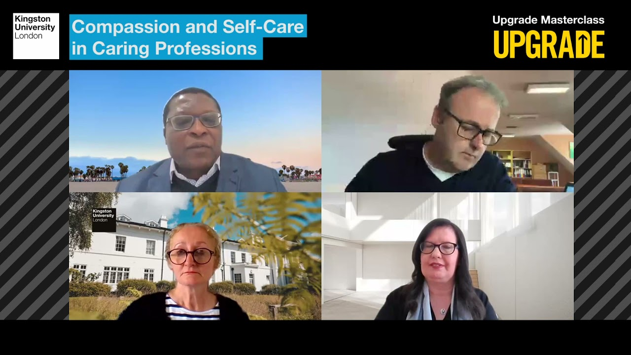 Upgrade Masterclass – Compassion and Self-Care in Caring Professions
