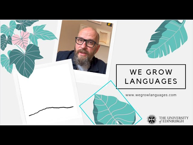 Why is the project called 'We grow languages'?
