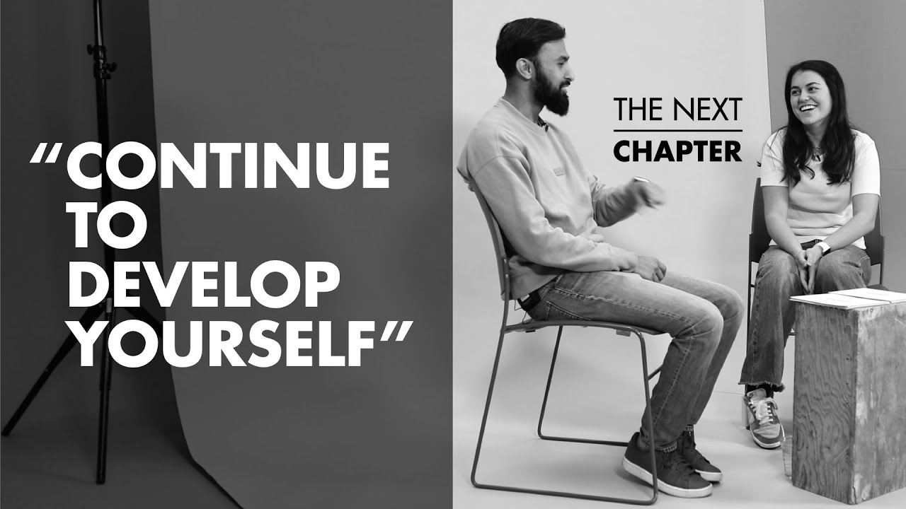 Third-year Student Meets a Graduate Working at Amazon | The Next Chapter | Ep1