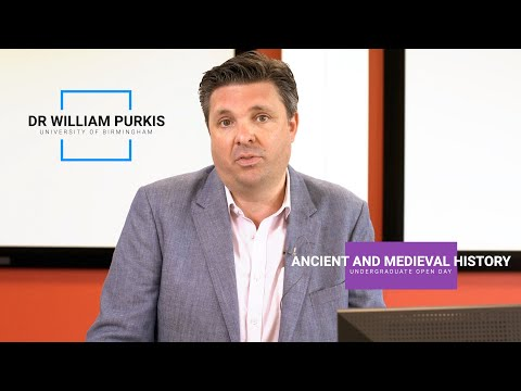 Study undergraduate Ancient and Medieval History at university