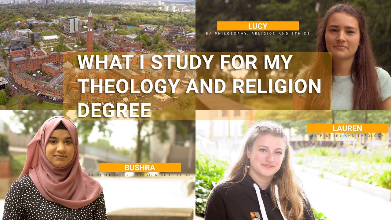 What I study for my Theology and Religion undergraduate degree