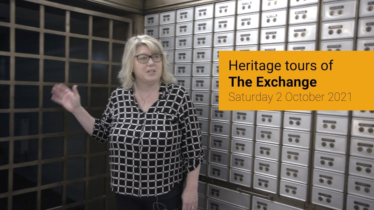 Heritage tours of The Exchange