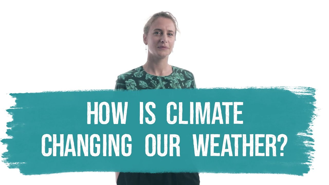 How is climate changing our weather?