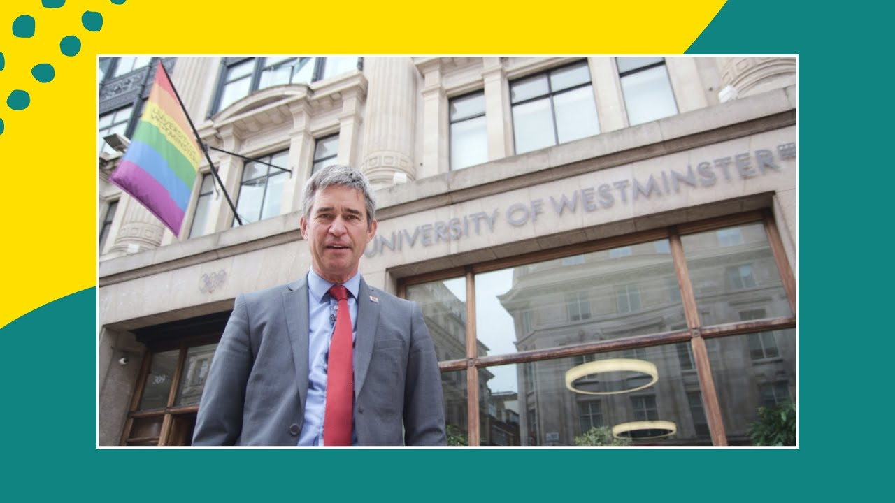 Welcome To Westminster | Message from our Vice-Chancellor Peter Bonfield