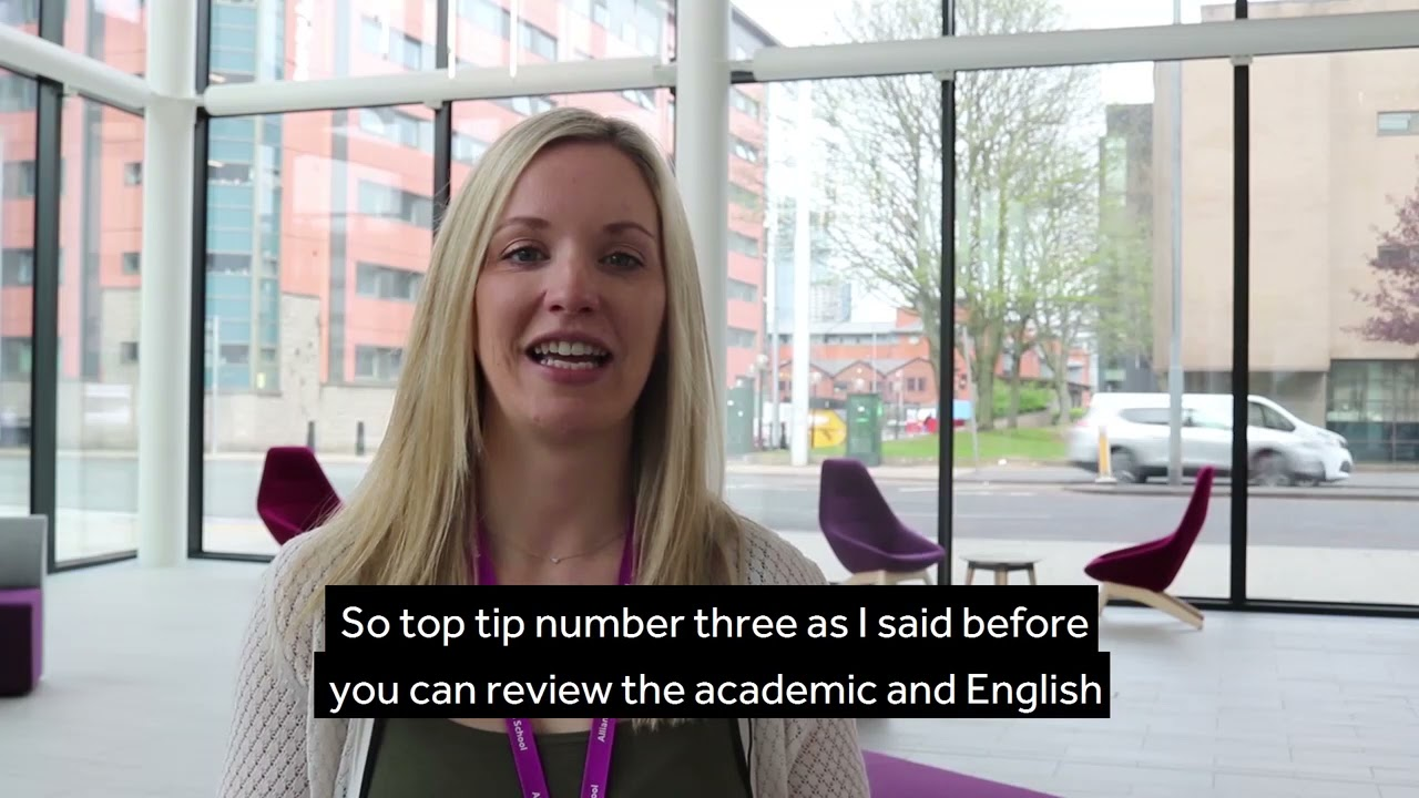 7 tips to help your application for a Masters Degree at AMBS