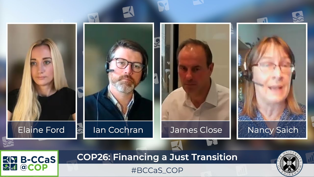Financing a Just Transition