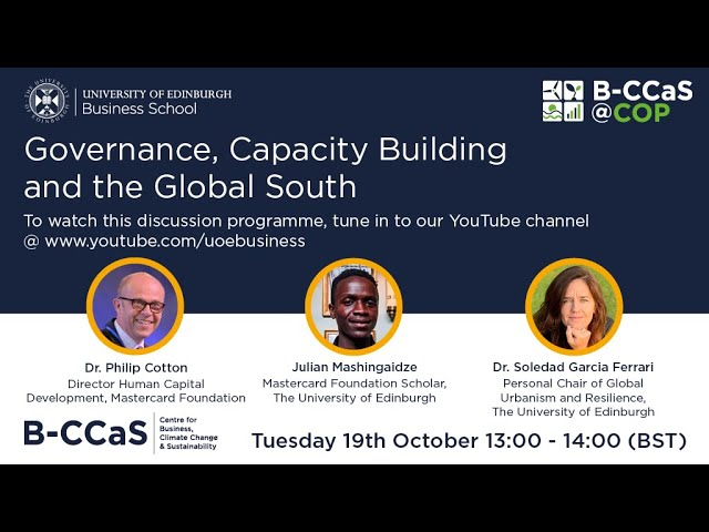 Governance, Capacity Building and the Global South