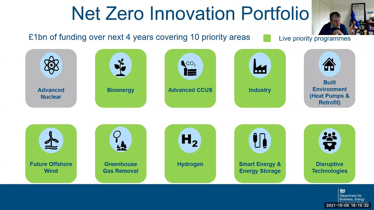 Net Zero & the Role of Science, Innovation & Collaboration: Professor Paul Monks